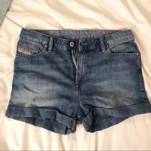 DIESEL denim shorts ☀️
